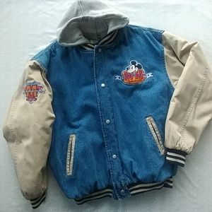 MICKEY MOUSE 1928 Denim Varsity Jacket